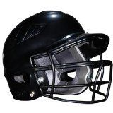 Rawlings Coolflo Batting Helmet with Faceguard (Black ) - http://www.learnhitting.com/baseball-equipment-deals/rawlings-coolflo-batting-helmet-with-faceguard-black/