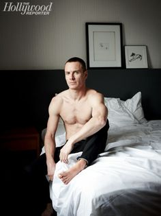 Michael Fassbender (not loving the shaved head, but the rest makes up for it!)