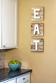 Cozinha: decoração e arrumação ao pormenor