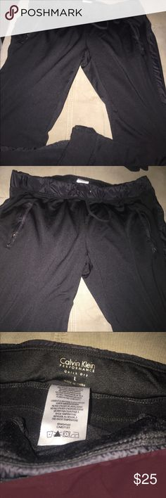 """Calvin Klein """"quick dry"""" Capri style joggers Stay comfortable and fit with these Calvin Klein performance quick dry pants. Calvin Klein Pants Track Pants & Joggers"""