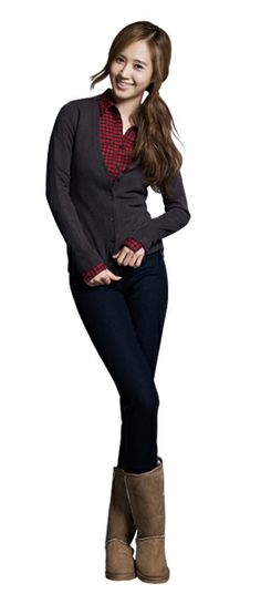 snsd yuri spao - I'd go with different boots, though.