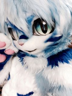Oinu flower — Snow Rufen my fur suit i recently purchased