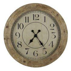 Cooper Classics Fairbanks Clock CO-40354