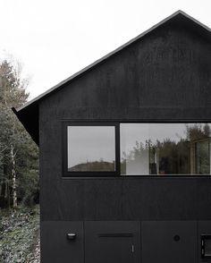 Black cabin | black