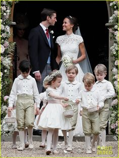 Pippa Middleton Is Married - See Her Wedding Photos Here!