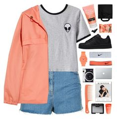 """~we live in such extraordinary times"" by emmas-fashion-diary ❤ liked on Polyvore featuring Topshop, Chicnova Fashion, A.P.C., adidas, Komono, Fuji, NIKE, Neutrogena, NARS Cosmetics and Black+Blum"