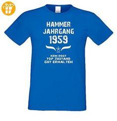 Geschenkset für Männer : Hammer Jahrgang 1959 : Herren Kurzarm T-Shirt :  Geschenkidee zum