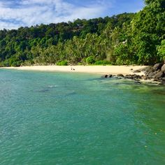 The beach at Cape Panwa Hotel and Spa - photo courtesy of Instagram and whudso10