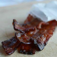 Oven Baked Maple Bourbon Glazed Bacon ... Do you need anything else?