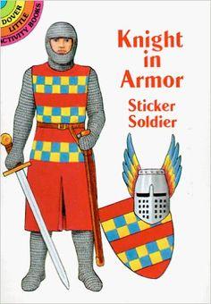 Knight in Armor Sticker Soldier (Dover Little Activity Books Paper Dolls): A. G. Smith: 9780486299334: Amazon.com: Books