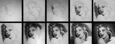 Marilyn Monroe - Pooh pooh bee doo - WIP by Stanbos.deviantart.com on @DeviantArt