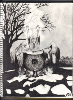 IMAGES OF MACBETH 3 WITHCED | Three Witches of Macbeth by ~AllTheSame on deviantART