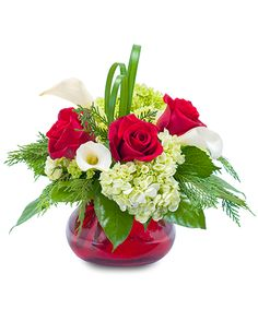 Hinsdale Florist - Order flowers online from your florist in Hinsdale IL. Hinsdale Flower Shop offers fresh flowers and hand flower delivery right to your door in Hinsdale. Christmas Flower Arrangements, Christmas Flowers, Winter Flowers, Spring Flowers, Floral Arrangements, July Flowers, Christmas Decor, Flowers Today, Home Flowers