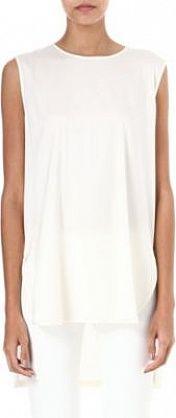 Sportmax Sleeveless tunic White #SS14 #Minimal #Fashion