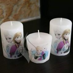 Frozen candles
