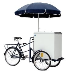 Pashley No. 33 Bicycle Ice Cream Cart