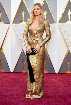 Margot Robbie aux Oscars 2016