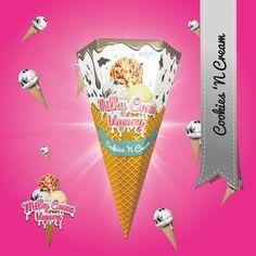 Cookies N Cream - Milky Cones Vapory #vape #vaping #eliquid
