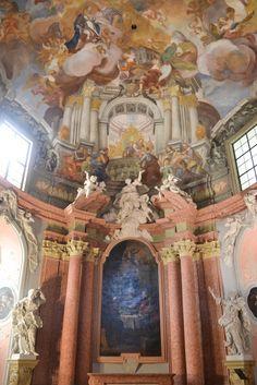 Jan Kryštof Handke - kaple božího těla, Olomouc - 1727-8