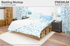 Bedding Mockup Set by mock-ups on @creativemarket