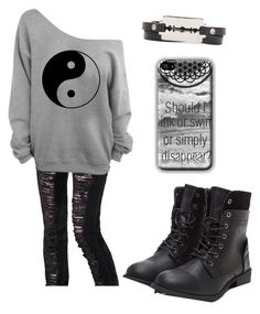 """""""Untitled #1971"""" by picky-picky ❤ liked on Polyvore featuring Criminal Damage and McQ by Alexander McQueen"""