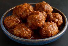 Meatballs in Guajillo Sauce