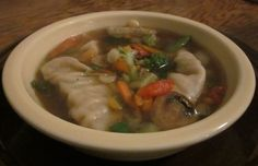 Simple and quick potsticker soup recipe!