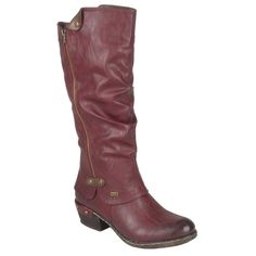 Rieker Sierra Womens Long Boots | Charles Clinkard