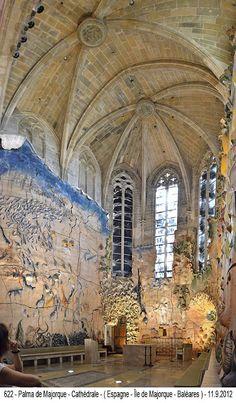 Espagne - Palma de Majorque - Cathédrale - ( Baléares )