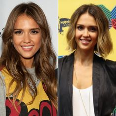 Pin for Later: Will These Celebrity Short Cuts Encourage You to Go For the Chop? Jessica Alba