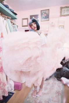 Another from my vintage shopping day with Melanie Martinez