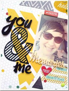 Wednesday with Ashley H. Hip Kit Club, Hexagon Pattern, Layout, Shapes, Create, Store, Amazing, Projects, Fun