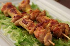 Cocina con Clau: Pinchos de pollo y puerros con especias