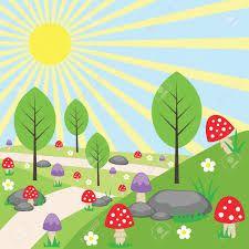 """Résultat de recherche d'images pour """"a fairy garden illustration"""""""