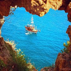 Antalya, Turkey by onderkoca Heart In Nature, Voyager Loin, Destinations, Best Vacations, Wanderlust Travel, Antalya, Photography Tutorials, Places Around The World, Beautiful World