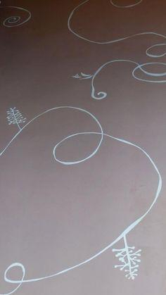 Décor peint sur le sol d'une chambre d'enfant  https://www.facebook.com/zinzoline-peinture-d%C3%A9co-139089589494474/photos