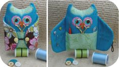 Owl Sewing Kit - In the Hoop Machine Embroidery Design