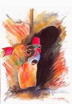 ALIBABA-ACUARELA FERNANDNI | Venta de Pinturas al óleo y acuarela de Patty Fernandini