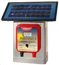 Parmak DF-SP-LI Solar Pak 6 Low Impedance Battery-Operated Electric Fence Charger Parmak Deluxe Field Solar-Pak 6 America's first solar Uses Of Solar Energy, Solar Energy Panels, Best Solar Panels, Solar Energy System, Solar Electric Fence, Fencing Supplies, Pet Supplies, Solar Roof Tiles, 1. Tag