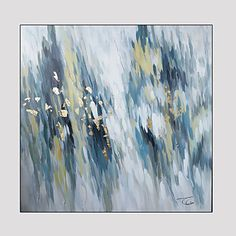 Modern Abstract Hand Painted Oil Painting on Canvas with Frame – GBP £ 87.73