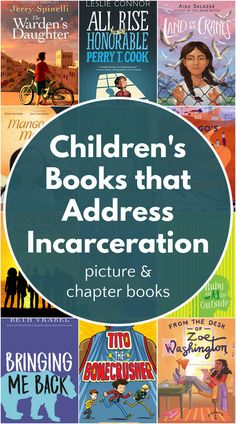 Series of book lists about tough topics. Picture books (ages 4 and up) and middle grade books (ages 8 and up) about having an incarcerated parent, a parent in an immigration detention center, or children's detention centers. These are good, thoughtful and sometimes funny books about a difficult subject. Best Toddler Books, Best Children Books, Read Aloud Books, Children's Books, Book Suggestions, Book Recommendations, Reading Lists, Book Lists, Service Projects For Kids