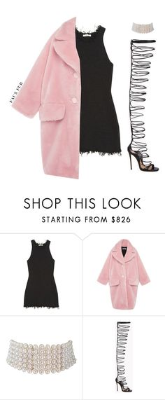 """#882"" by aliensforsale ❤ liked on Polyvore featuring CÉLINE, VIVETTA, Marina J. and Dsquared2"