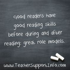 Good readers have go