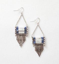 Ethnic+chic+earrings