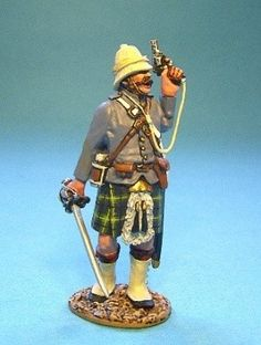 Gordon Highlanders Officer with Pistol John Jenkins GDH 10 First Sudan War | eBay
