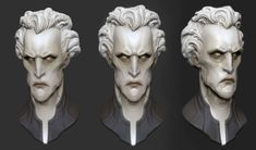 pale head study by GrayGinther on deviantART