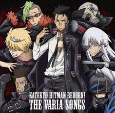 Katekyo Hitman Reborn Character Song Album VARIA SONGS Anime Music CD