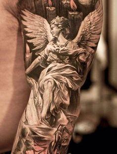 Home - Tattoo Spirit - Tattoo Artist – Niki Norberg - Engel Tattoos, 3d Tattoos, Trendy Tattoos, Body Art Tattoos, Sleeve Tattoos, Tattoos For Guys, Cool Tattoos, Wing Tattoos, Celtic Tattoos
