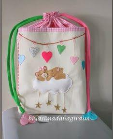 Bi Yaşıma Daha Girdim!!!: bez çantası