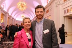 Donor and Recipient pair, Michael and Jean, met for the first time at our 2012 Partners for Life Gala!
